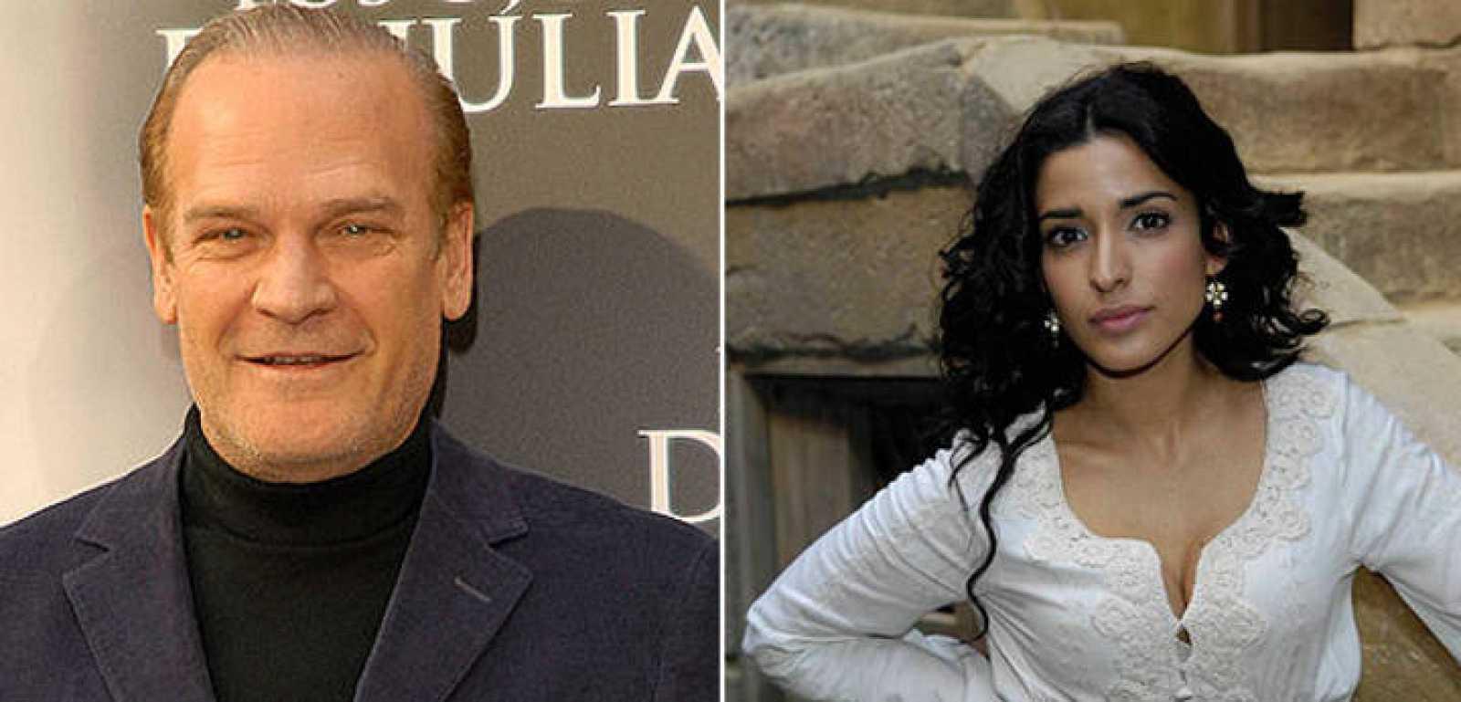 Lluís Homar (izq) e Inma Cuesta (dcha) anunciarán los finalistas a los Premios Goya 2012