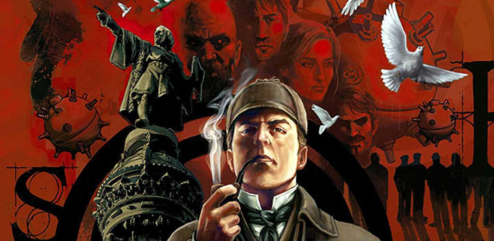 Imagen de 'Sherlock Holmes, la conspiración de Barcelona', de Sergio Colomino y Jordi Palomé