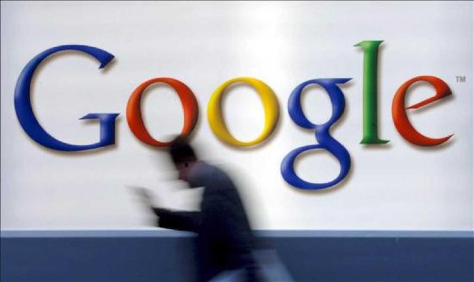Logo de la empresa de Silicon Valley, Google.