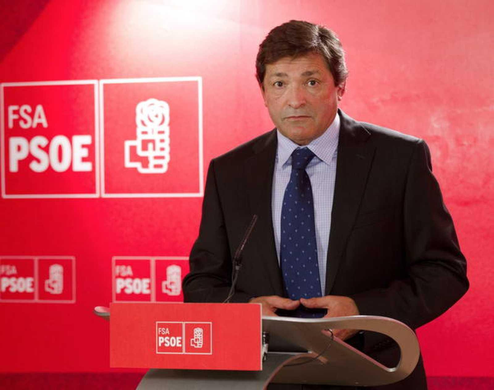 El secretario general de la Federación Socialista Asturiana (FSA-PSOE), Javier Fernández.