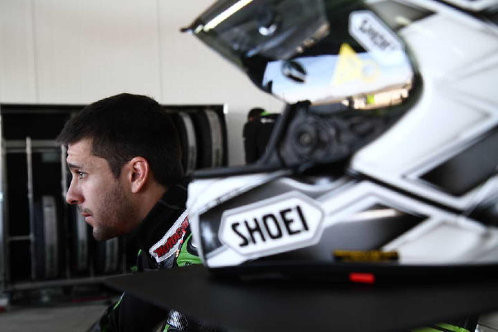 El piloto español de Superbike Joan Lascorz