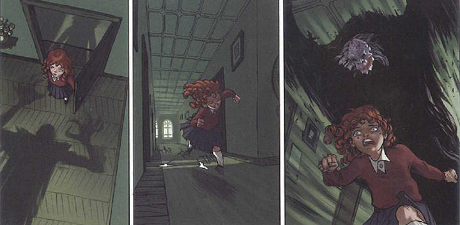 Viñetas de 'La casa de los susurros', de Muñoz, Tirso y Montes