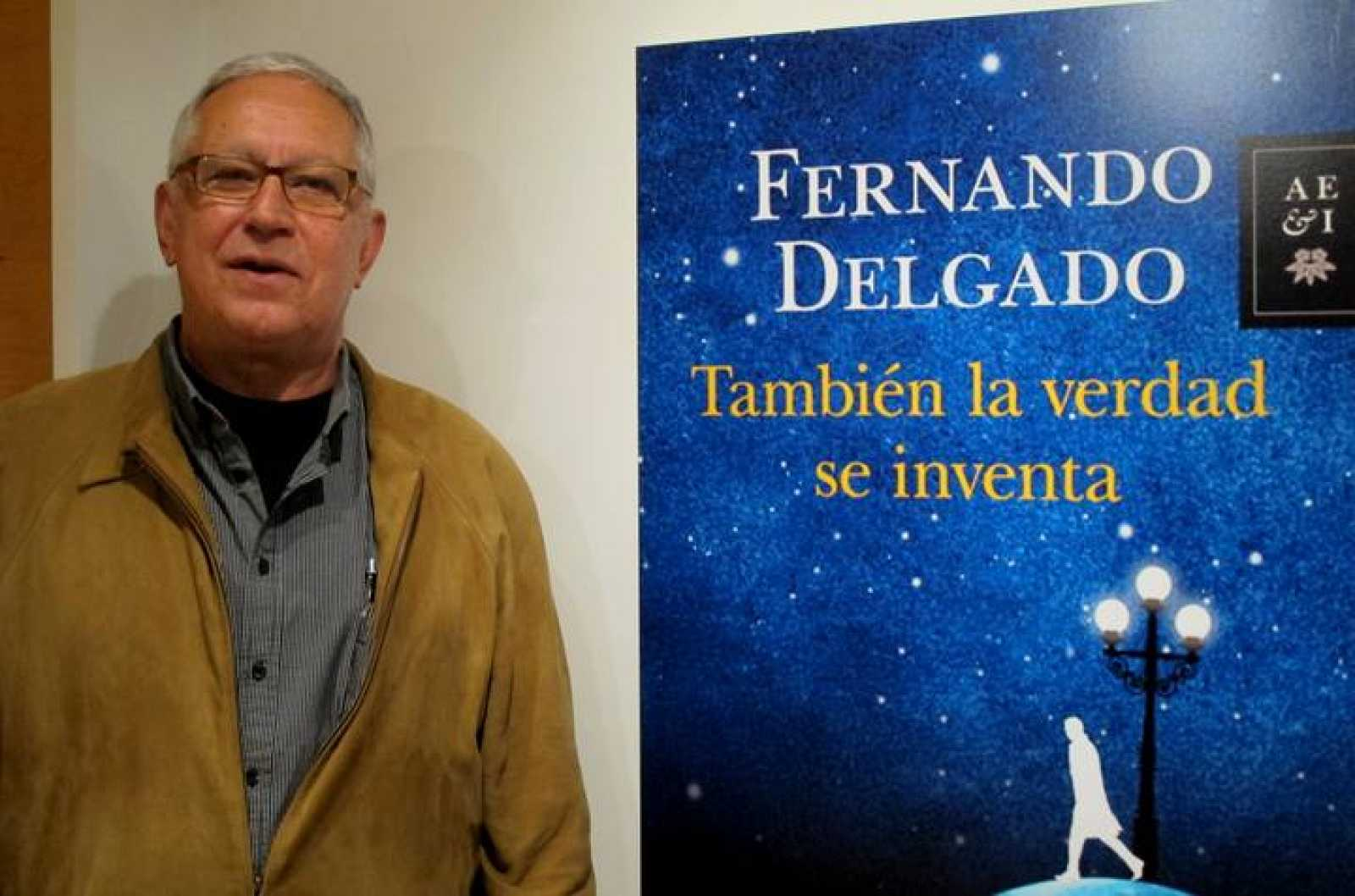 Fernando Delgado, esta mañana en Madrid
