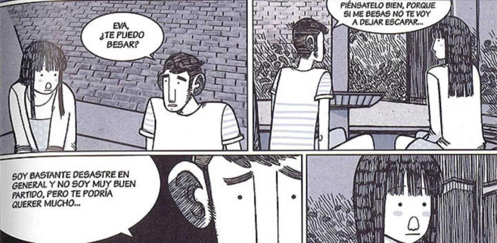 Viñetas de 'Amores minúsculos', de Alfonso Casas