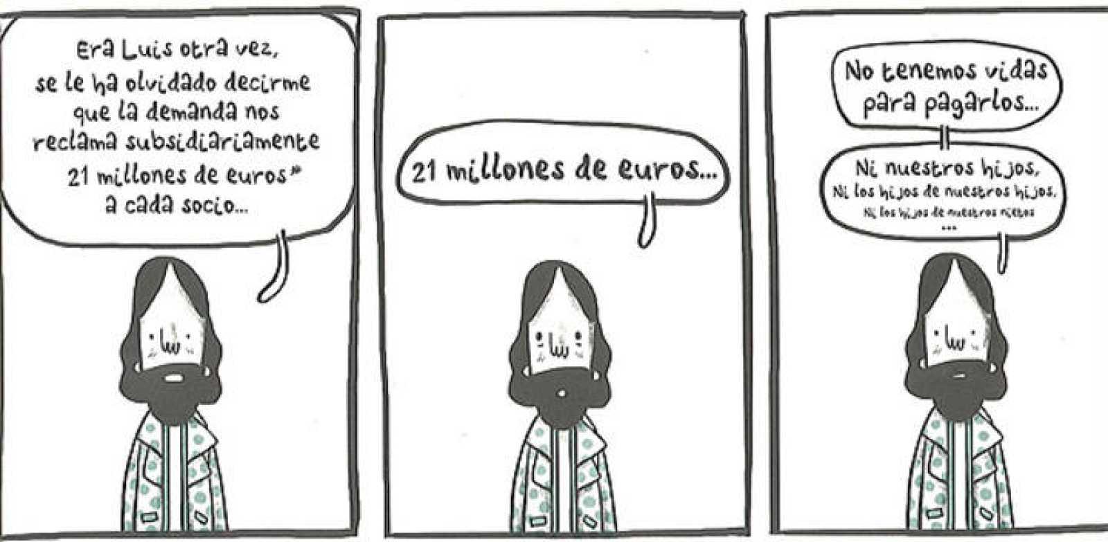 Viñetas de 'Éxito para perdedores', de David Cantolla y Juan Díaz-Faes