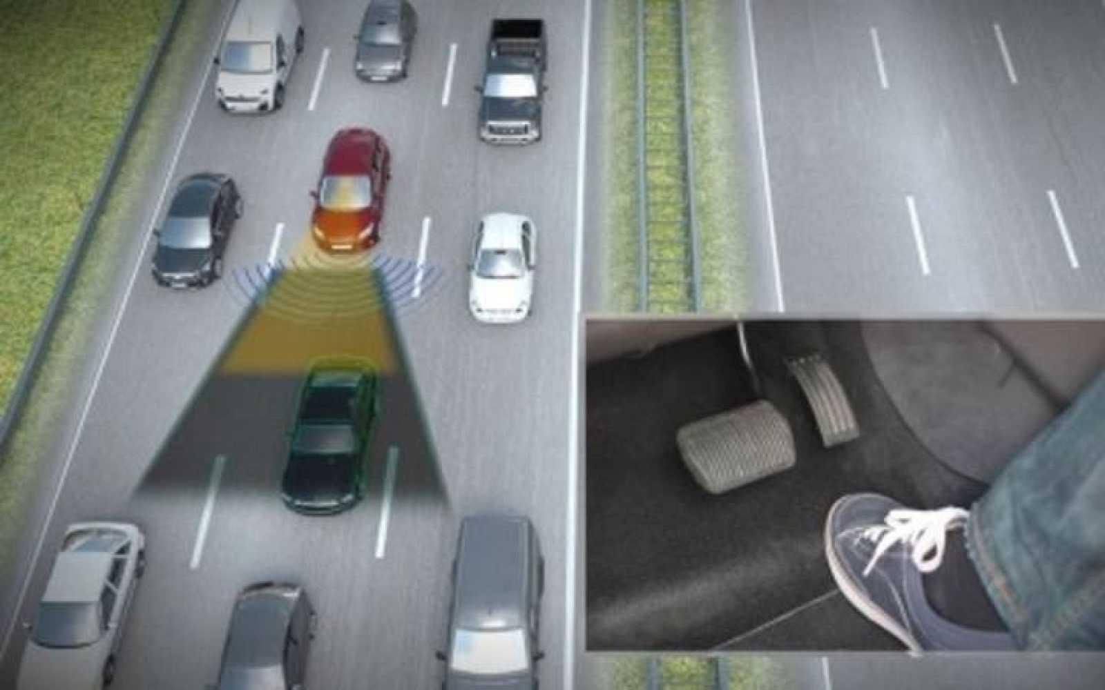 Así funciona el nuevo sensor que libera al conductor de los atascos