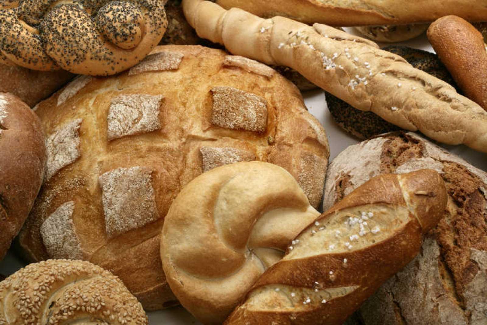 Panes de varios tipos
