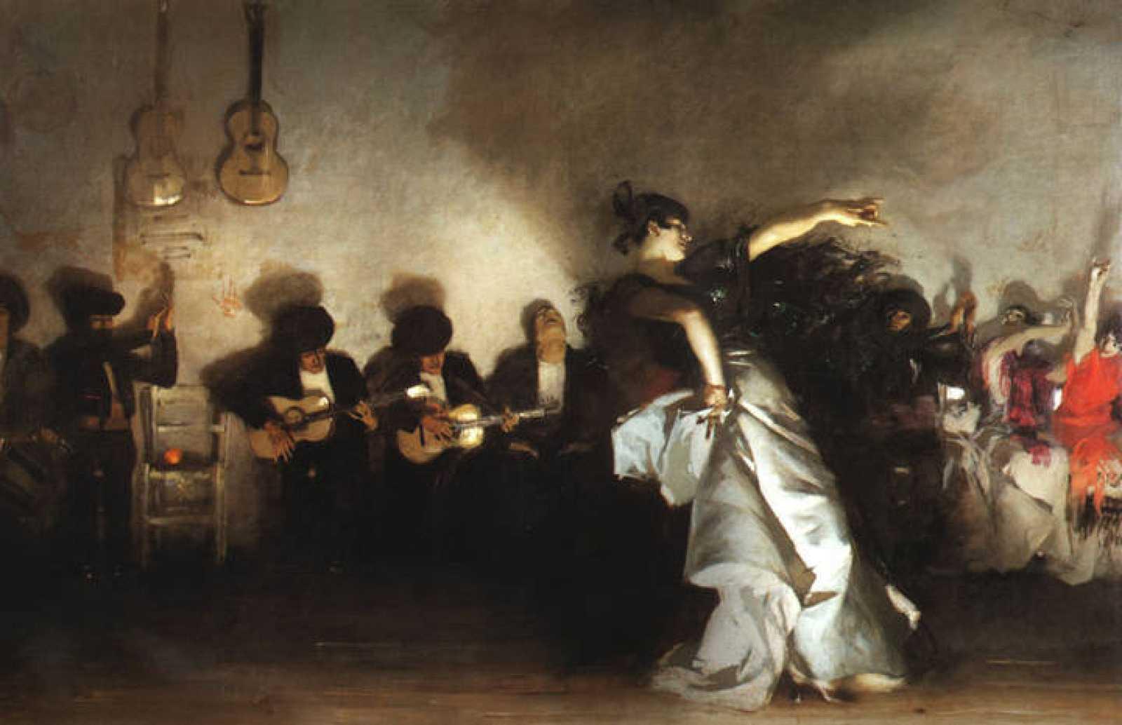 """Reproducción de """"El Jaleo"""" de John Singer Sargent"""