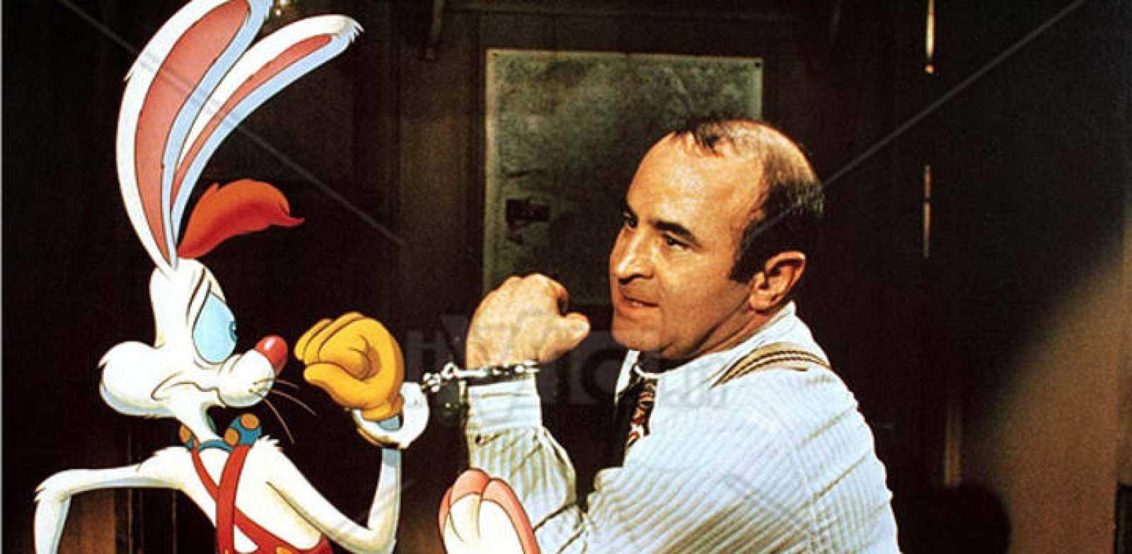 Bob Hoskins en una escena de '¿Quién engañó a Roger Rabbit?'