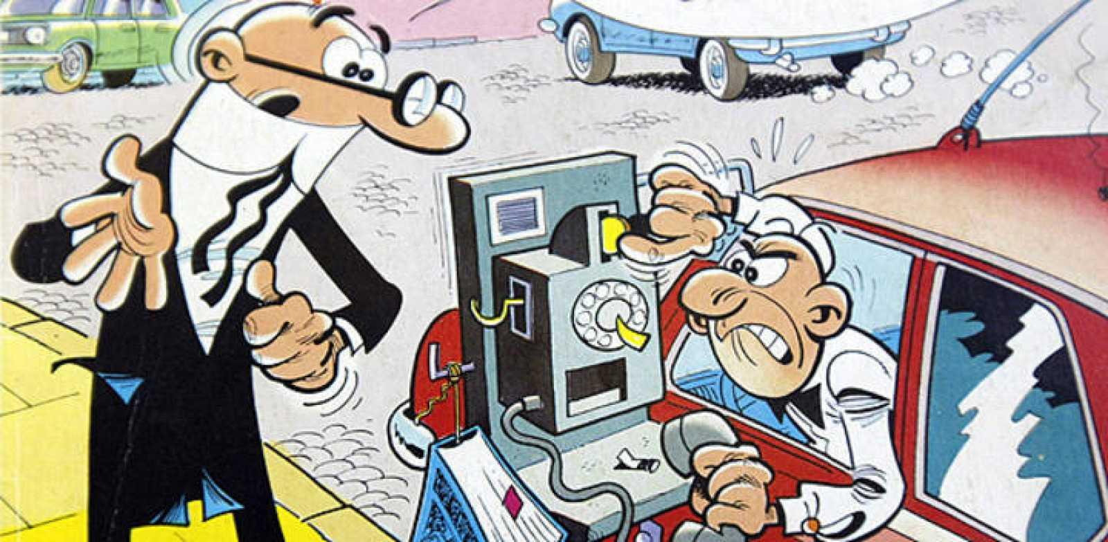 Mortadelo y Filemón, los personajes más famosos del cómic español