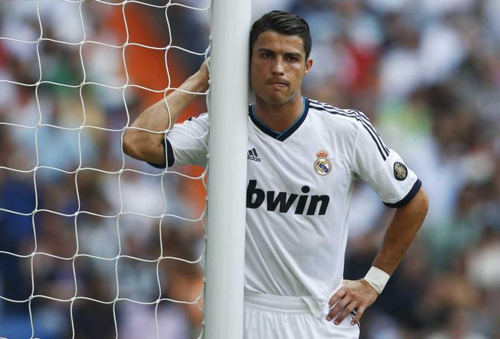 Cristiano Ronaldo, en una imagen del Real Madrid - Valencia