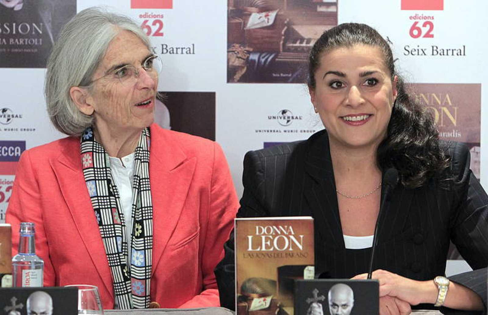 CECILIA BARTOLI Y DONNA LEON PRESENTA UN PROYECTO CONJUNTO