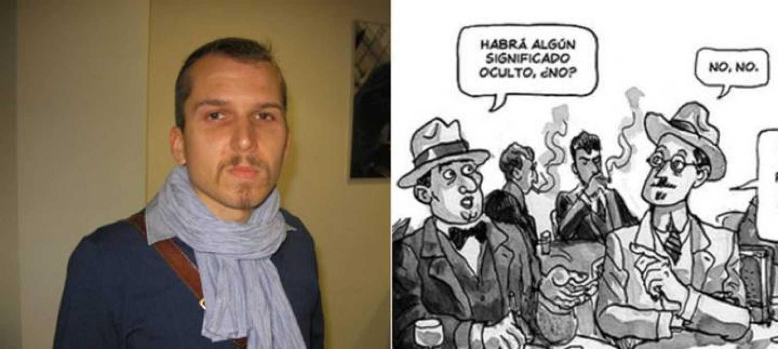 El dibujante Alfonso Zapico