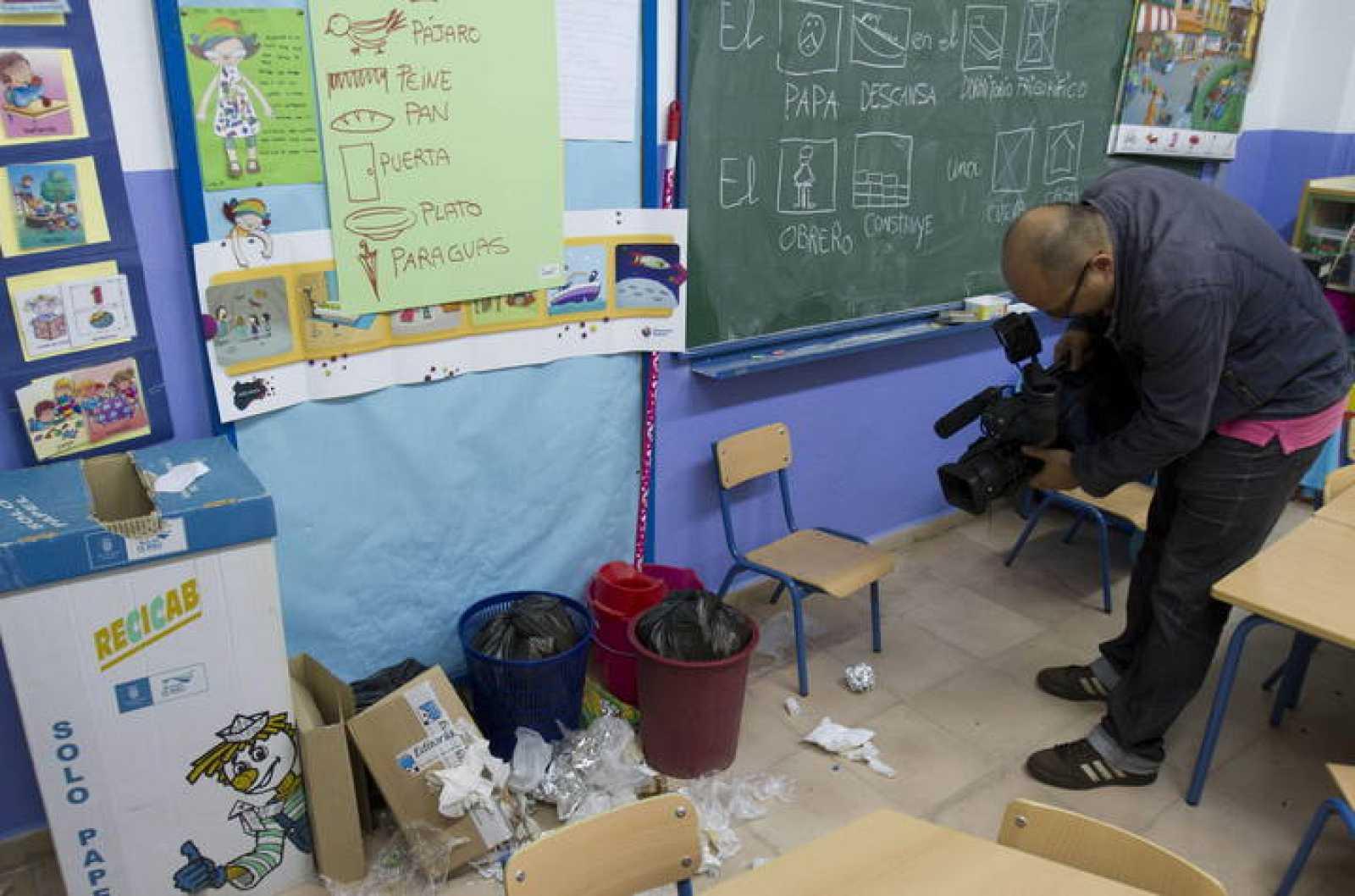 Huelga de limpieza colegios Jerez de la Frontera