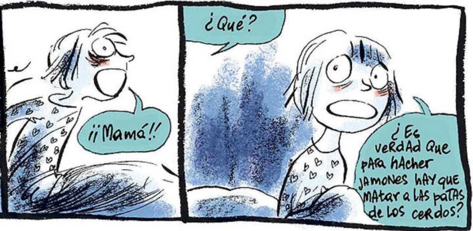 Viñetas de 'Personitas', de Lorena Canottiere