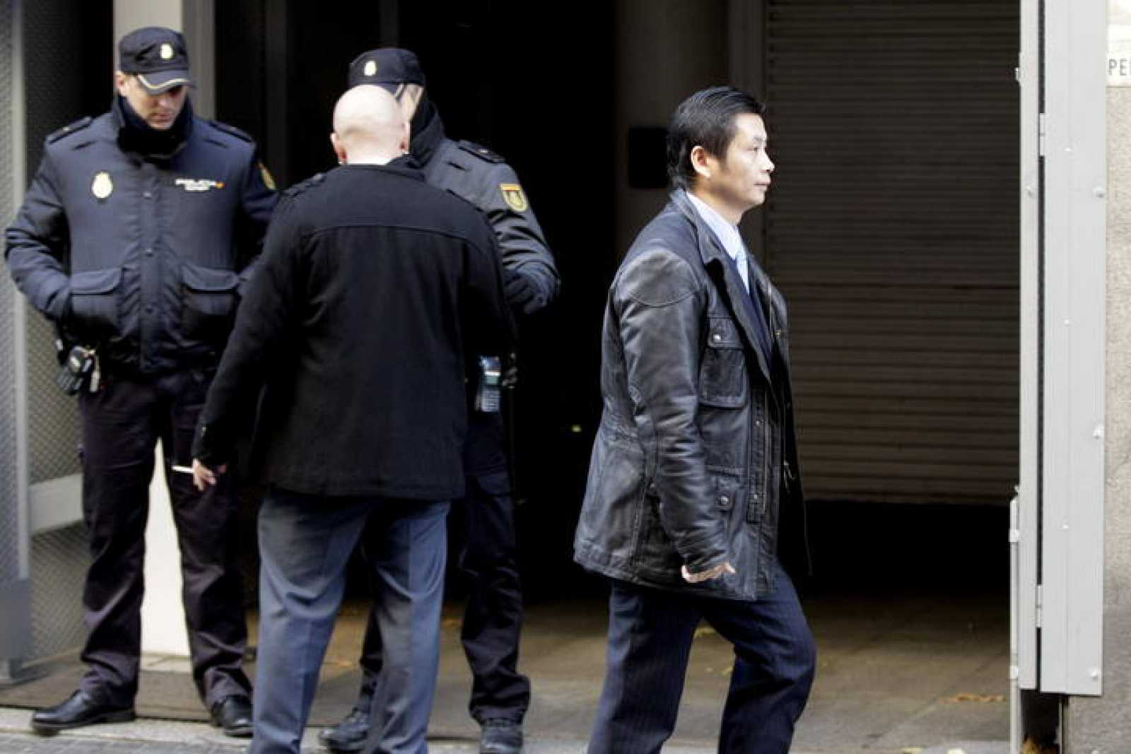 Gao Ping acude a la Audiencia Nacional para su comparecencia diaria