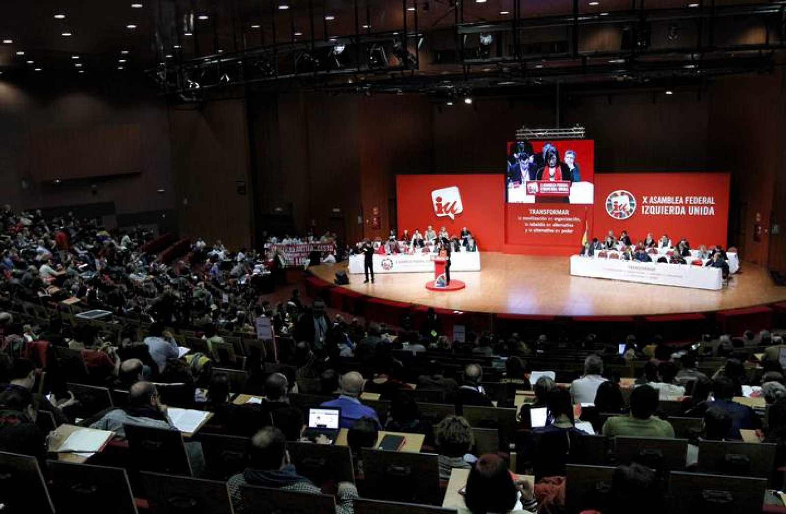 """La X Asamblea Federal de IU apoya de forma aplastante caminar para convertirse en """"alternativa de gobierno"""""""