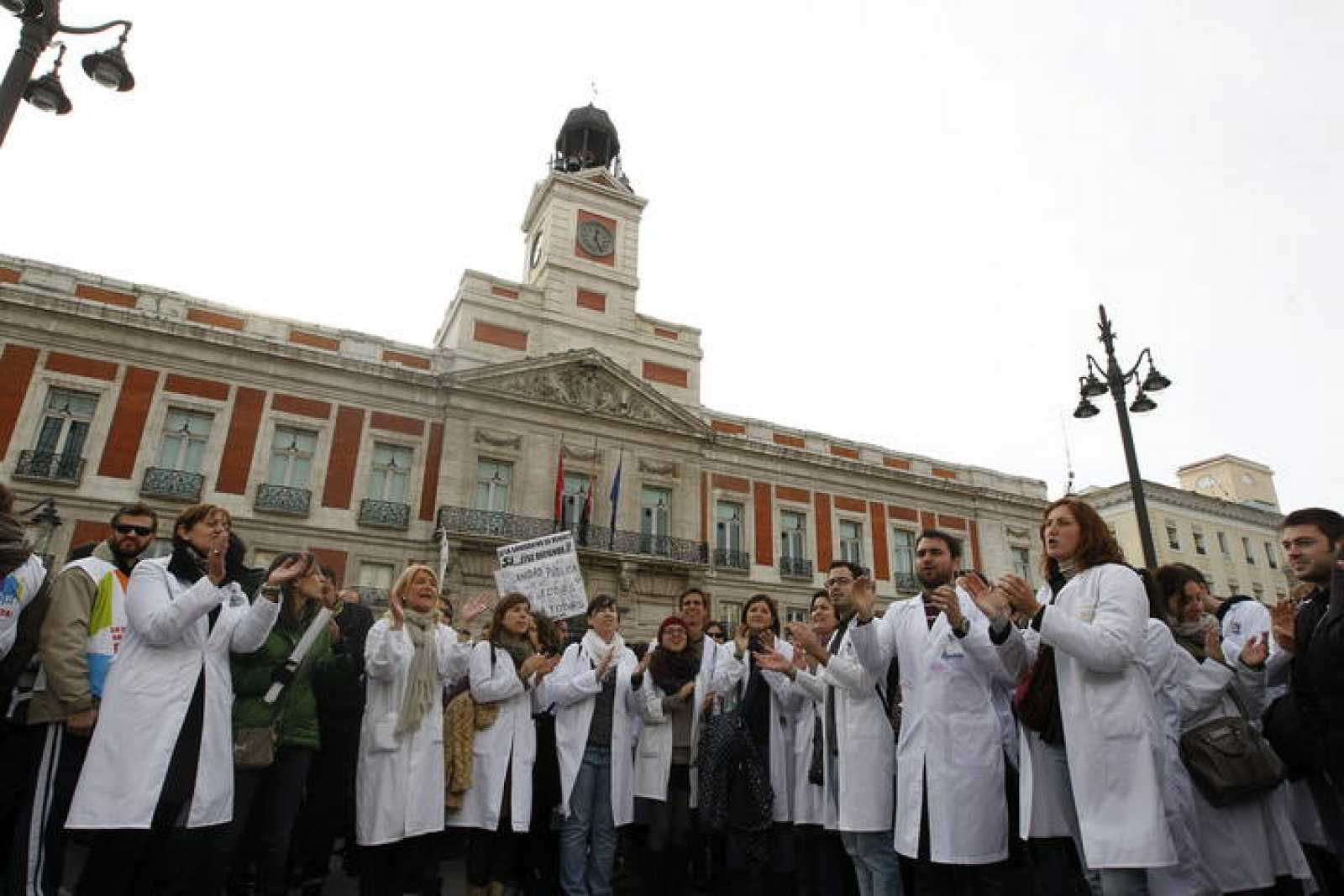 protestas médicos madrid