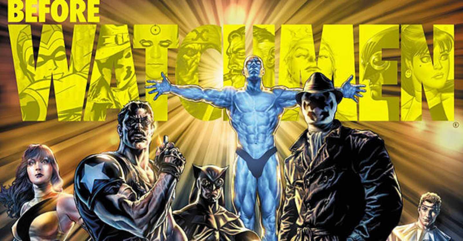 Imagen promocional de 'Before Watchmen' , de Lee Bermejo