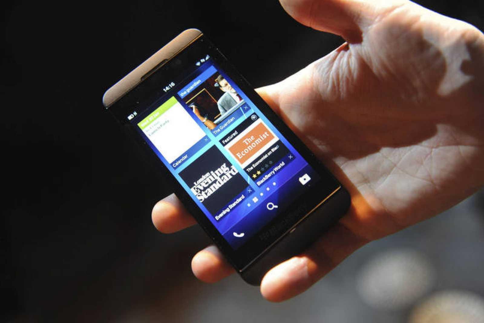 La nueva BlackBerry Z10