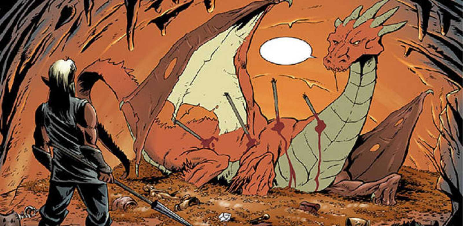 Viñeta de 'Entre tienieblas 8: escama de mi escama', de Jordi Bayarri