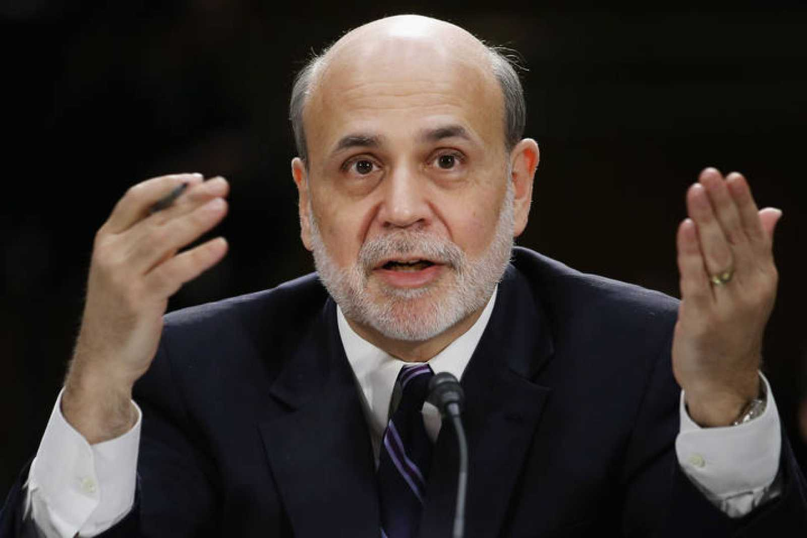 Ben Bernanke, presidente de la Reserva Federal