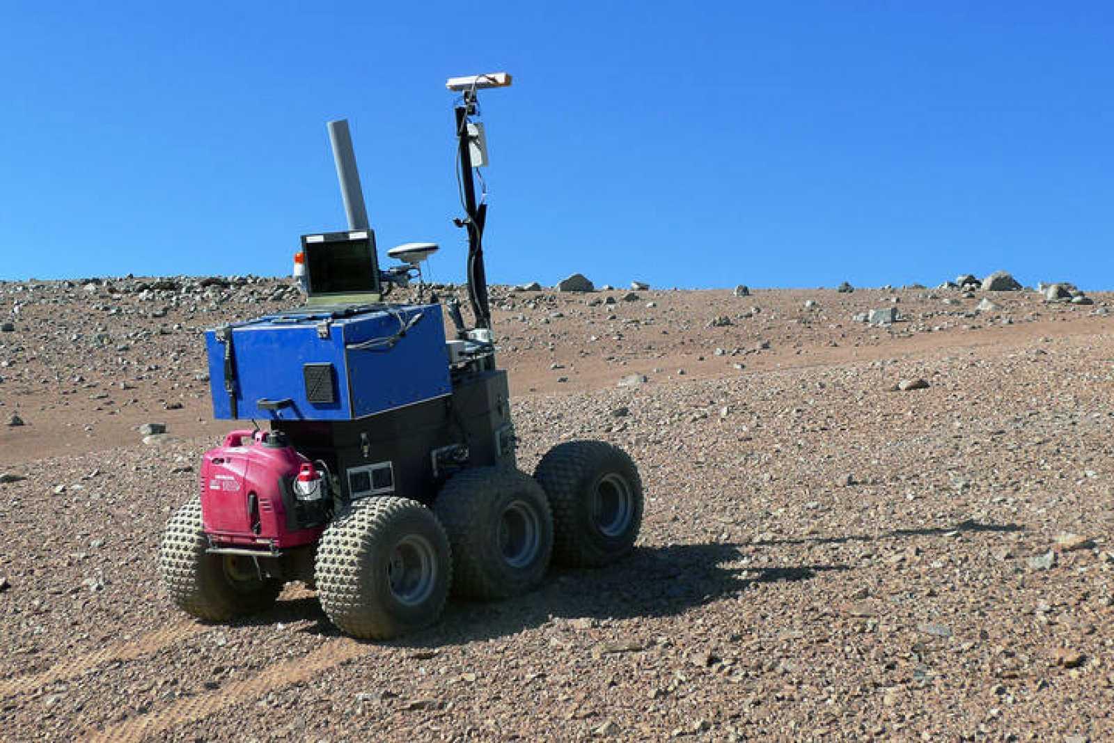 La ESA probó su rover autónomo en junio de 2012 en el Observatorio de Paranal (Chile)