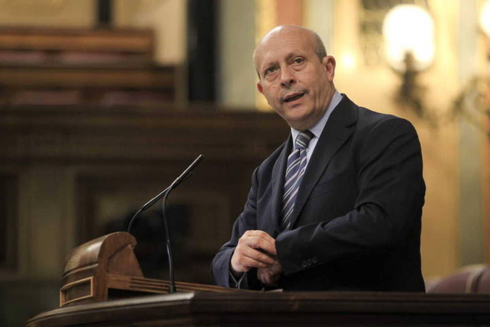 El ministro de Educación, José Ignacio Wert, en una fotografía de archivo.