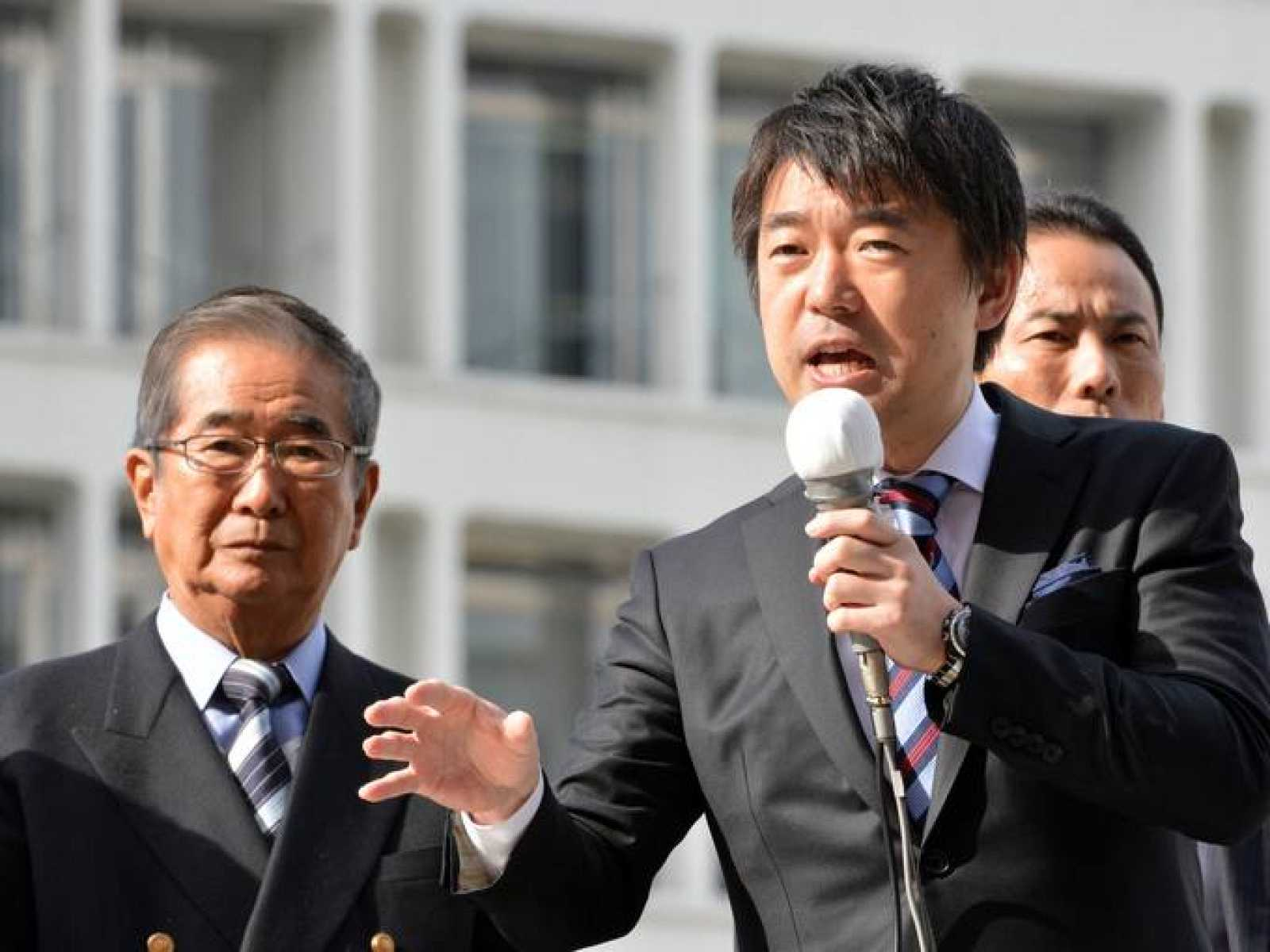 Fotografía de archivo de Toru Hashimoto, alcalde de Osaka