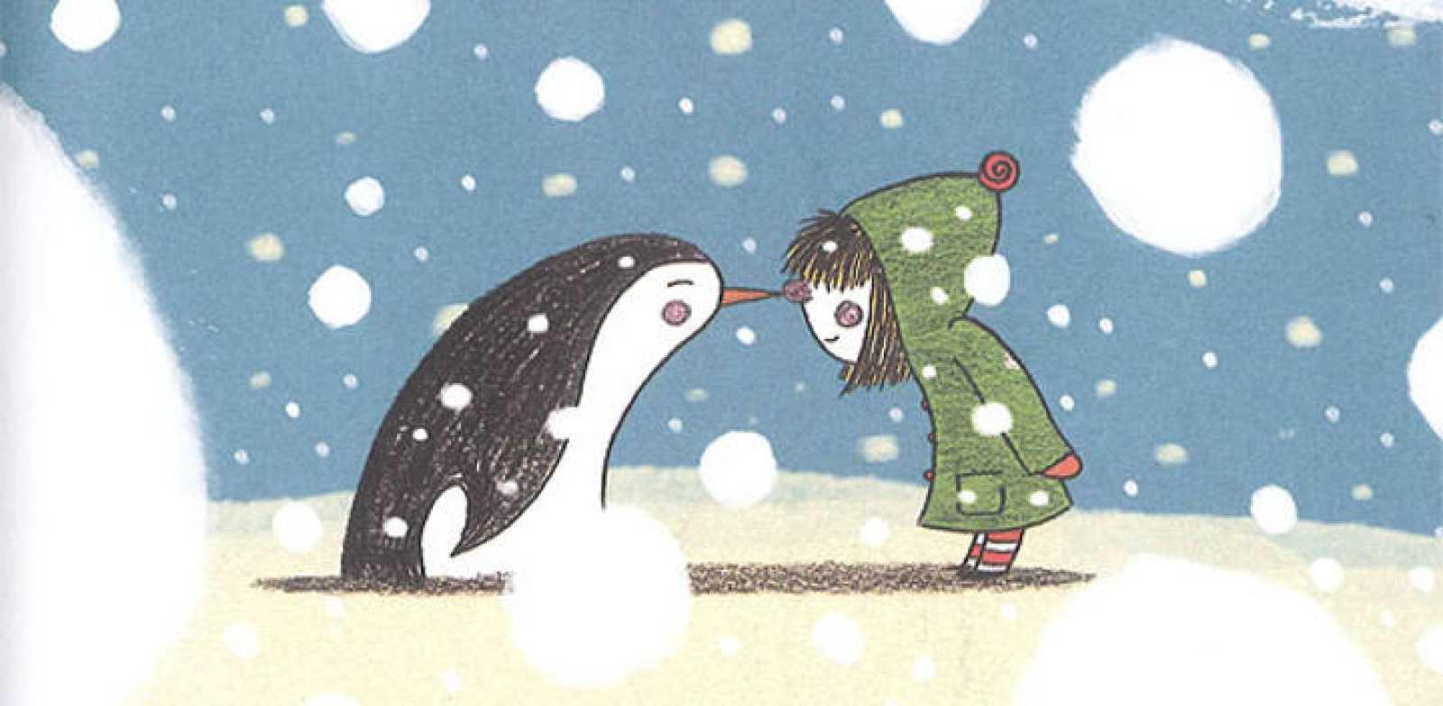 Fragmento de una ilustración de 'De mayor quiero ser pequeño'
