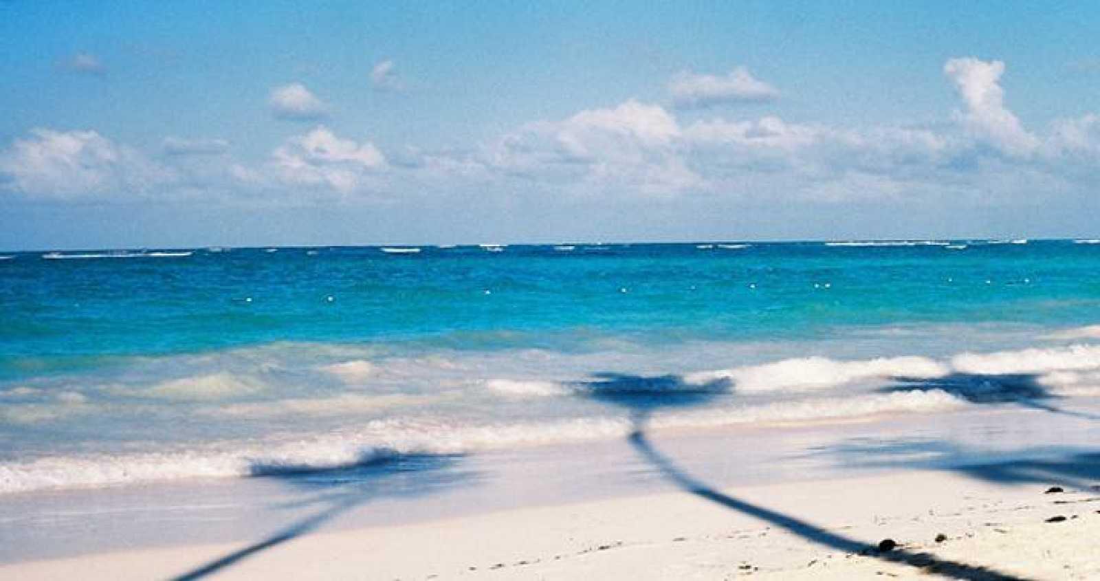 Una playa del Caribe