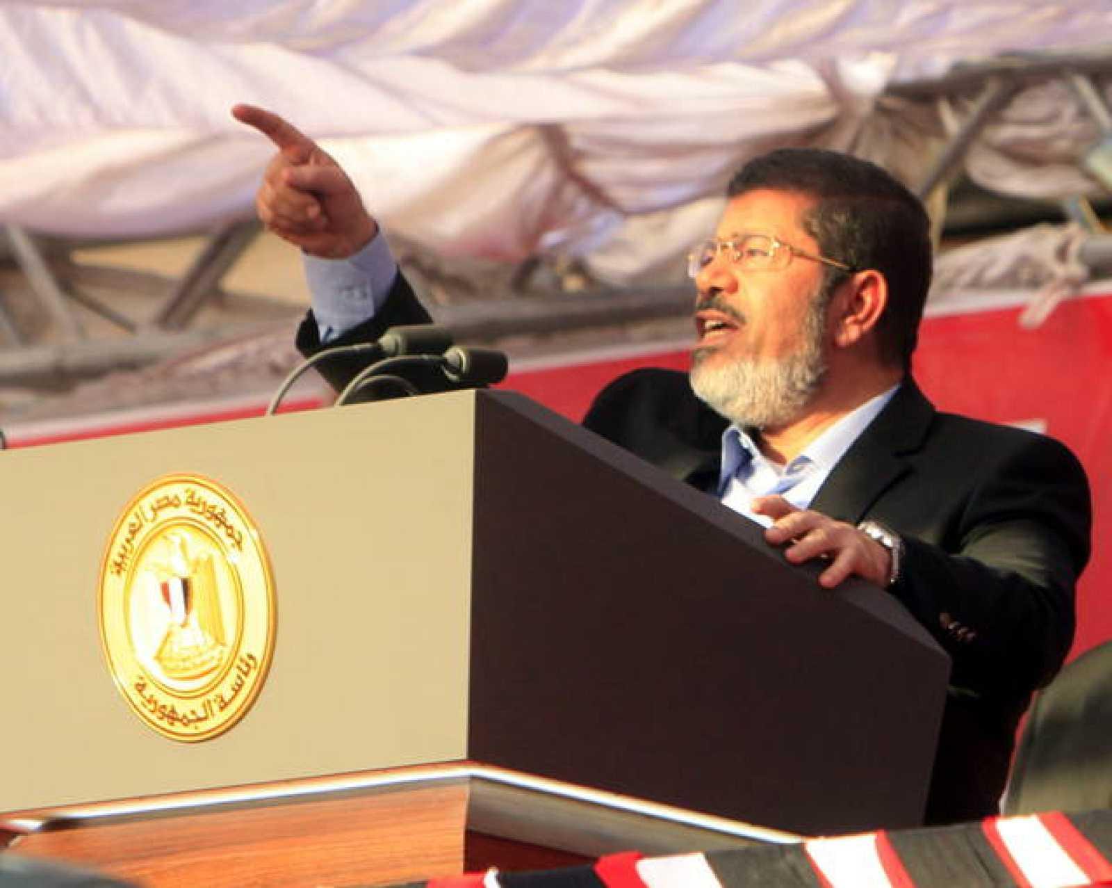 El depuesto presidente de Egipto, Mohamed Morsi, en una imagen de archivo.