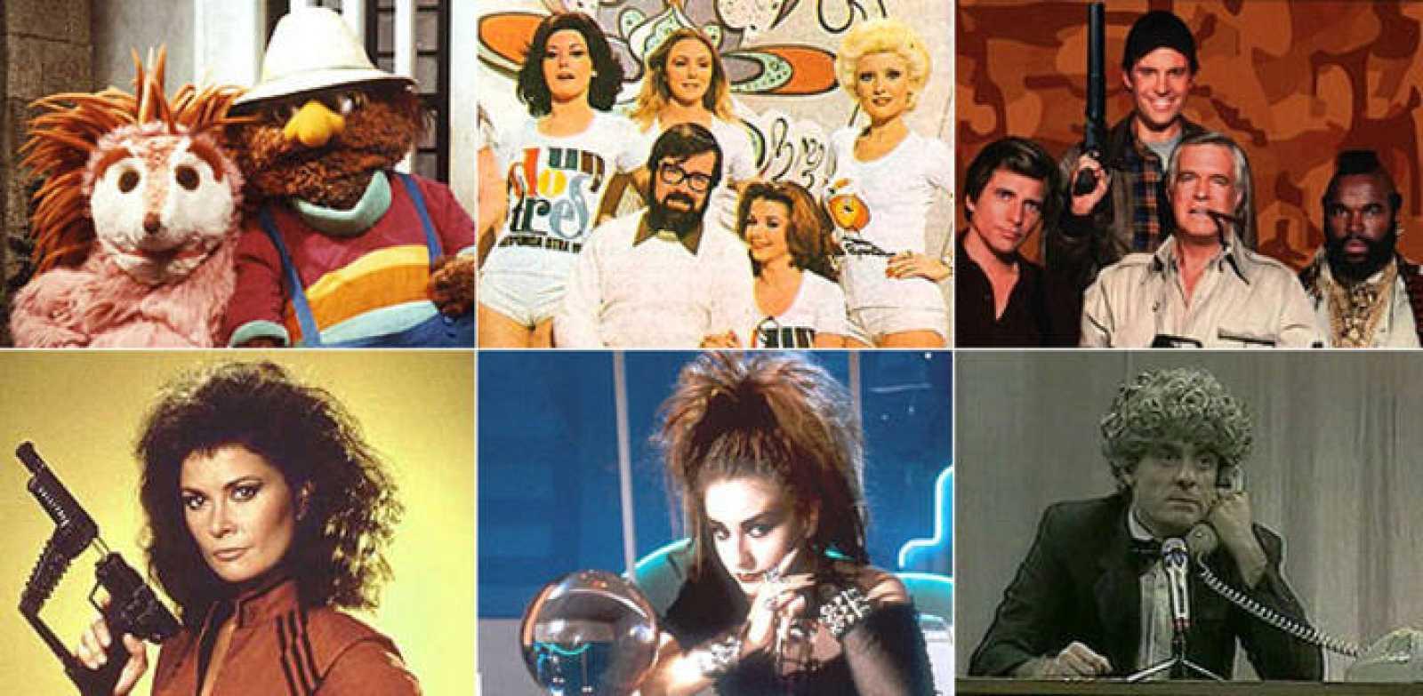 Series y programas míticos de los 80: 'Barrio Sésamo', 'Un, dos, tres', 'El Equipo A', 'V', 'La bola de Cristal' y 'Martes y Trece'