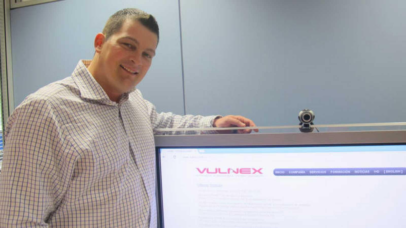 El fundador de Vulnex, Simón Roses Femerling