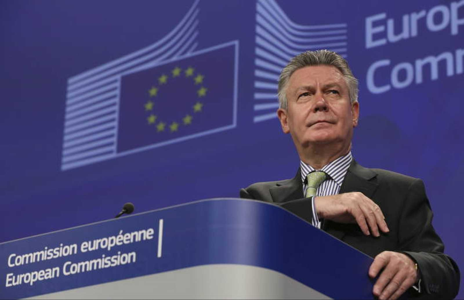 El comisario europeo de Comercio, Karel De Gucht