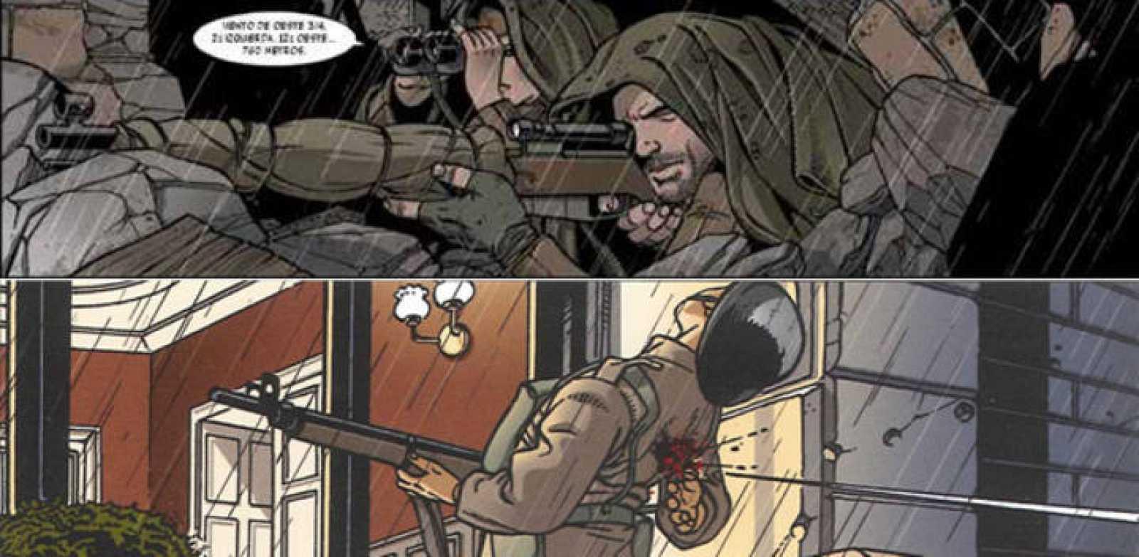 Viñetas de 'WW 2.2: Eliminar a Vasili Záitsev, de Hanna y Rosanas