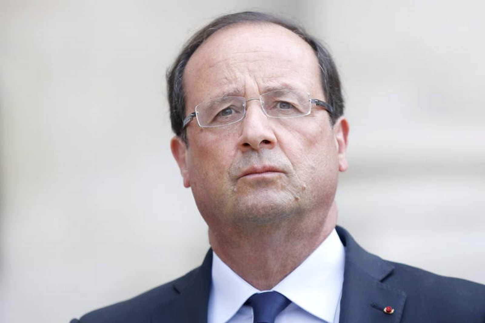 El presidente francés, François Hollande,