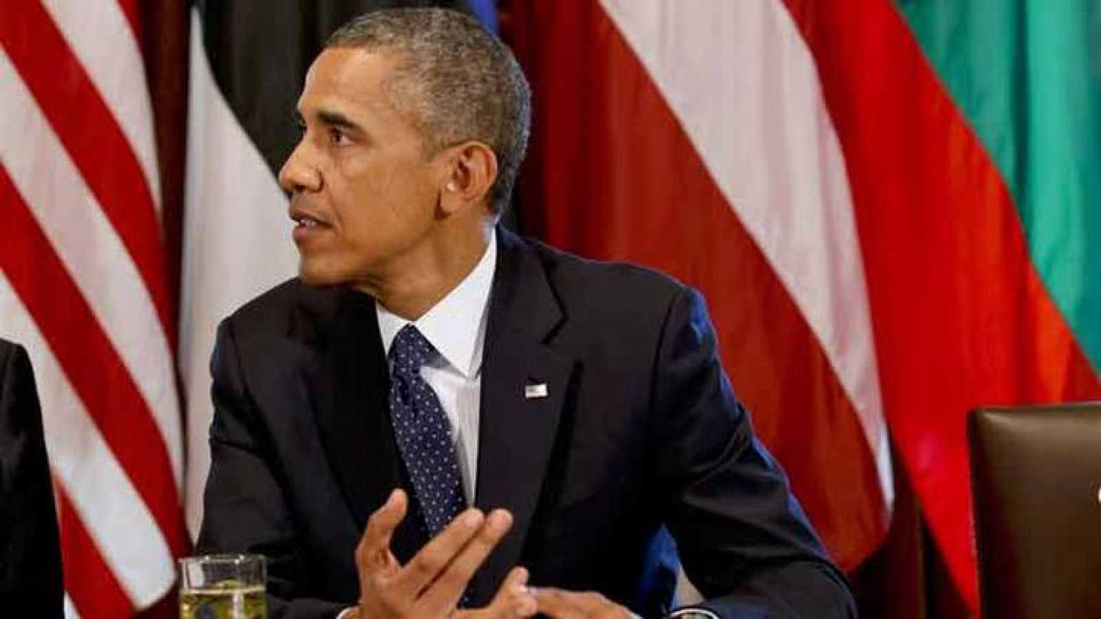 Obama espera aliados para llevar a cabo la intervención militar en Siria
