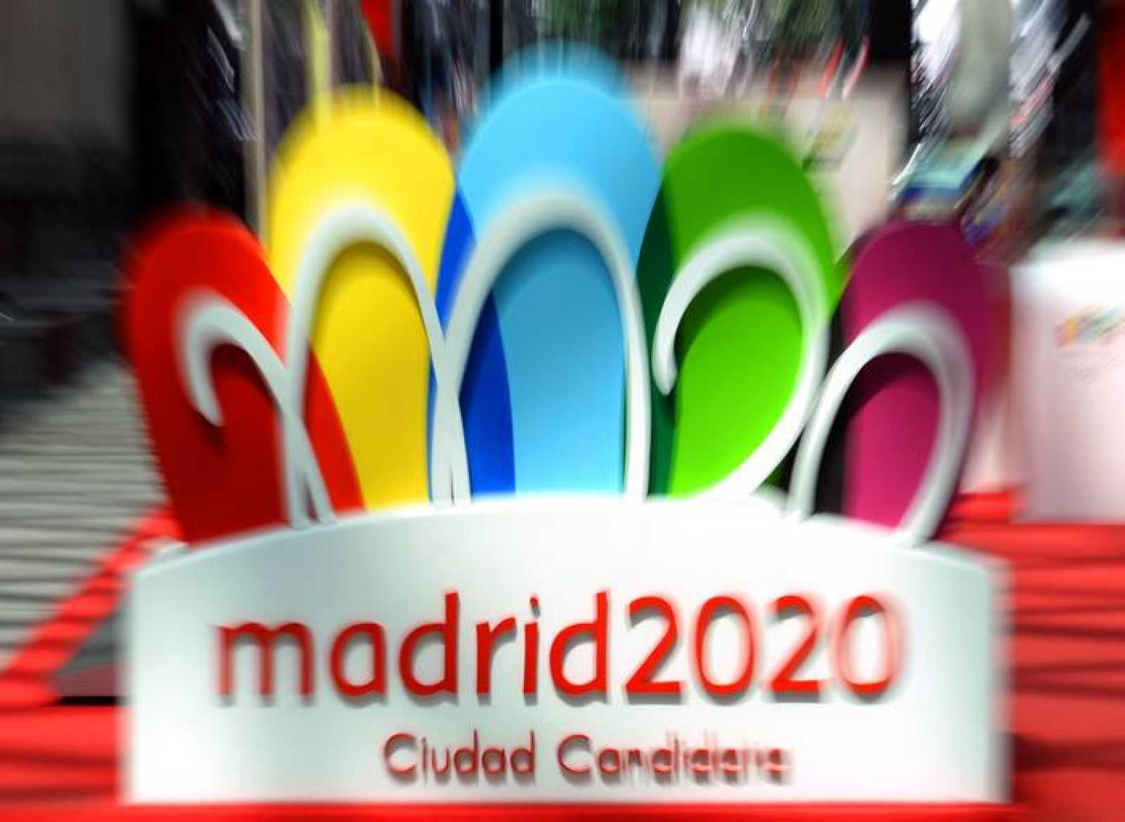 Imagen del logo de la candidatura olímpica de Madrid 2020.