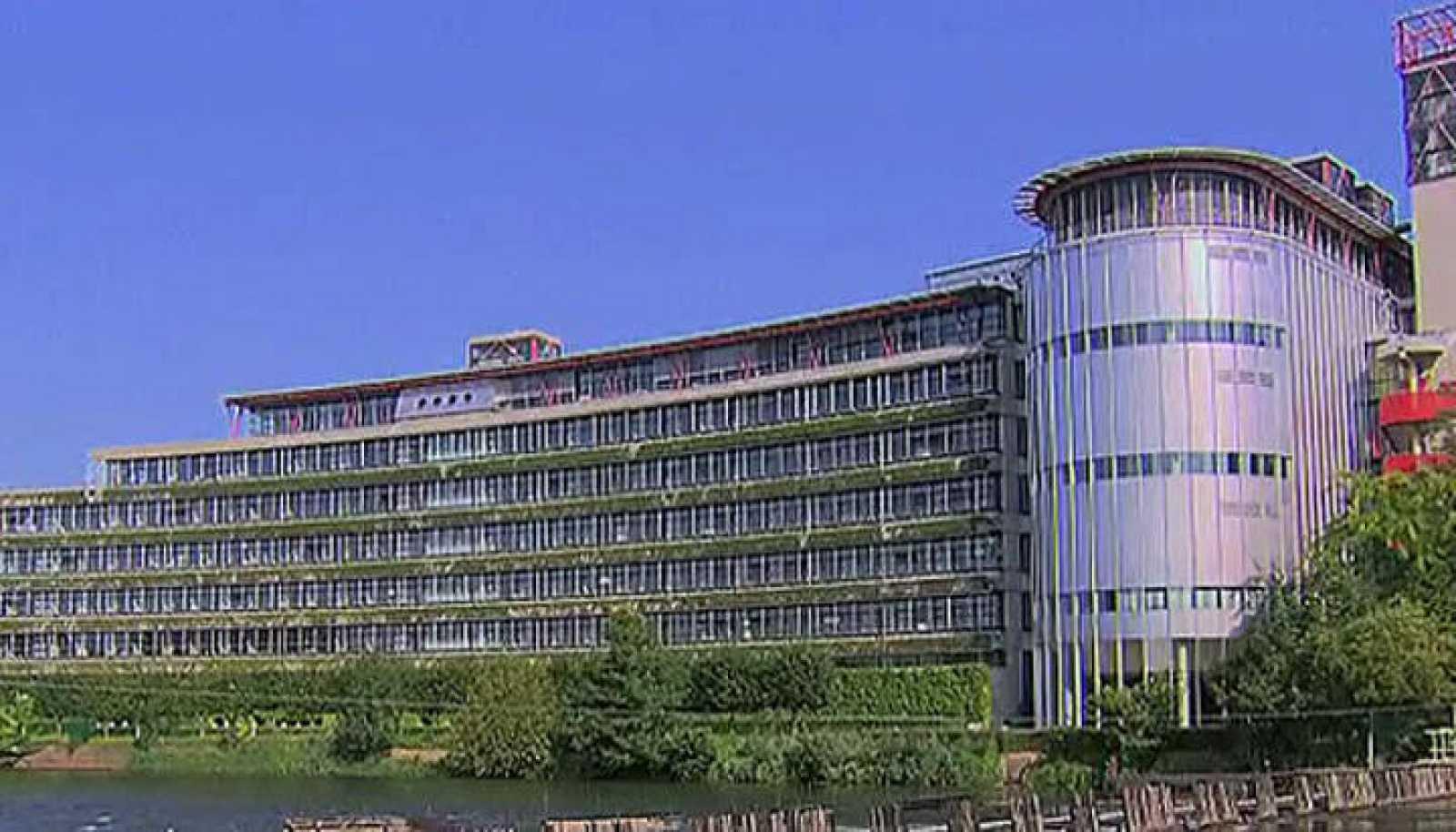 La sede del Tribunal Europeo de Derechos Humanos en Estrasburgo en Francia