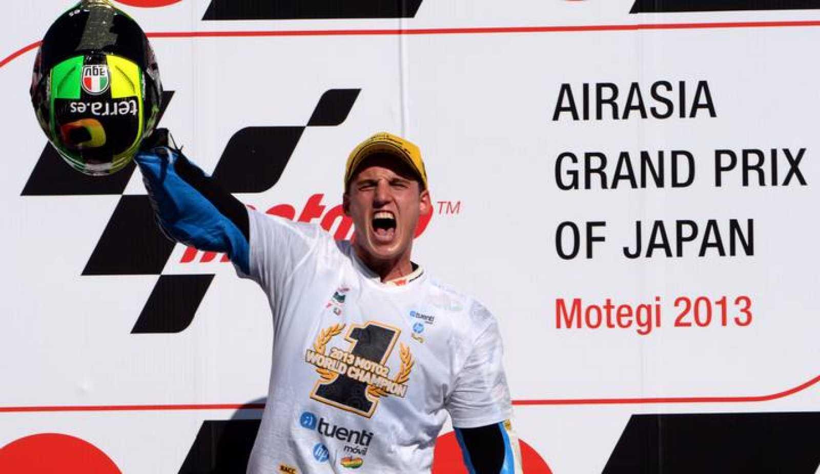 Pol Espargaró, vencedor del Mundial de Moto2