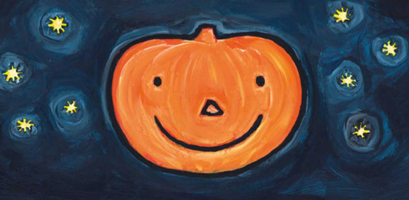 Fragmento de la portada de 'Feliz Halloween', de Liesbet Slegers