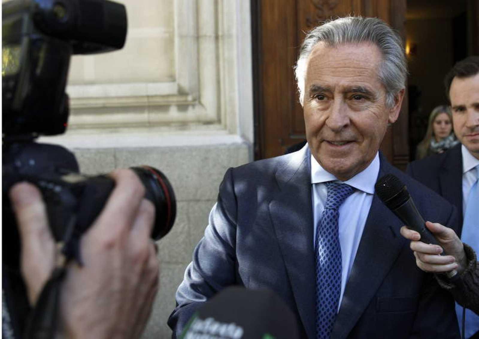 Miguel Blesa declara como testigo en el juicio contra el magistrado José Silva