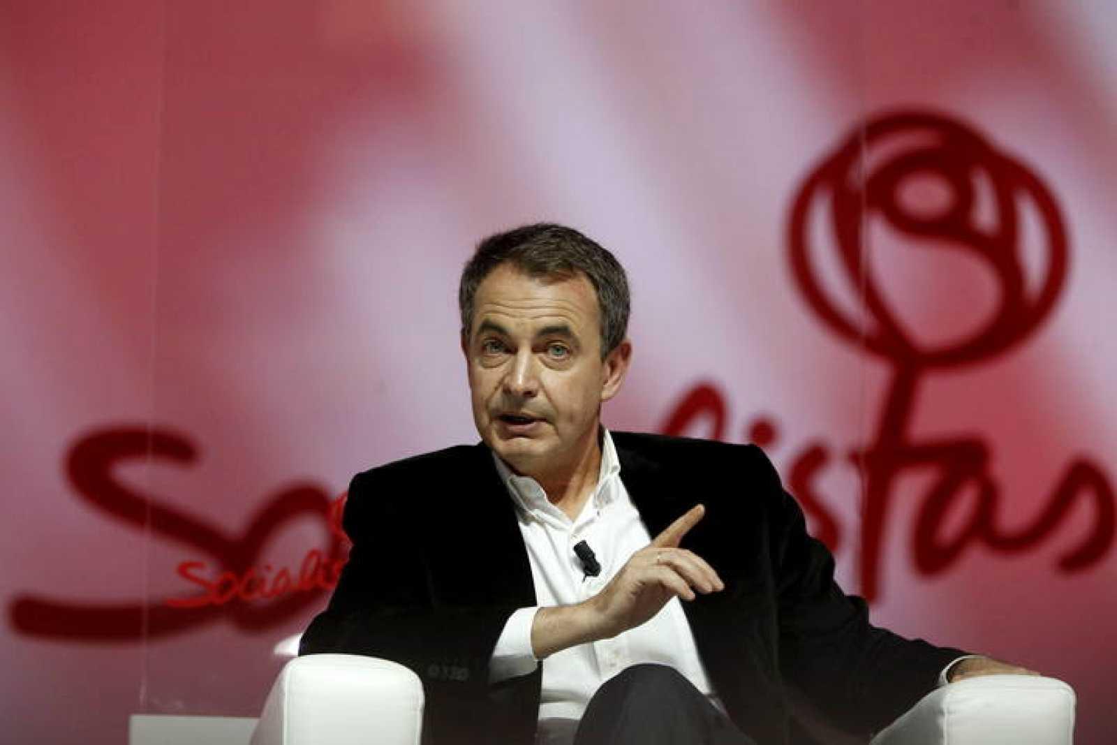 José Luis Rodríguez Zapatero, durante su participación en un foro sobre Igualdad.