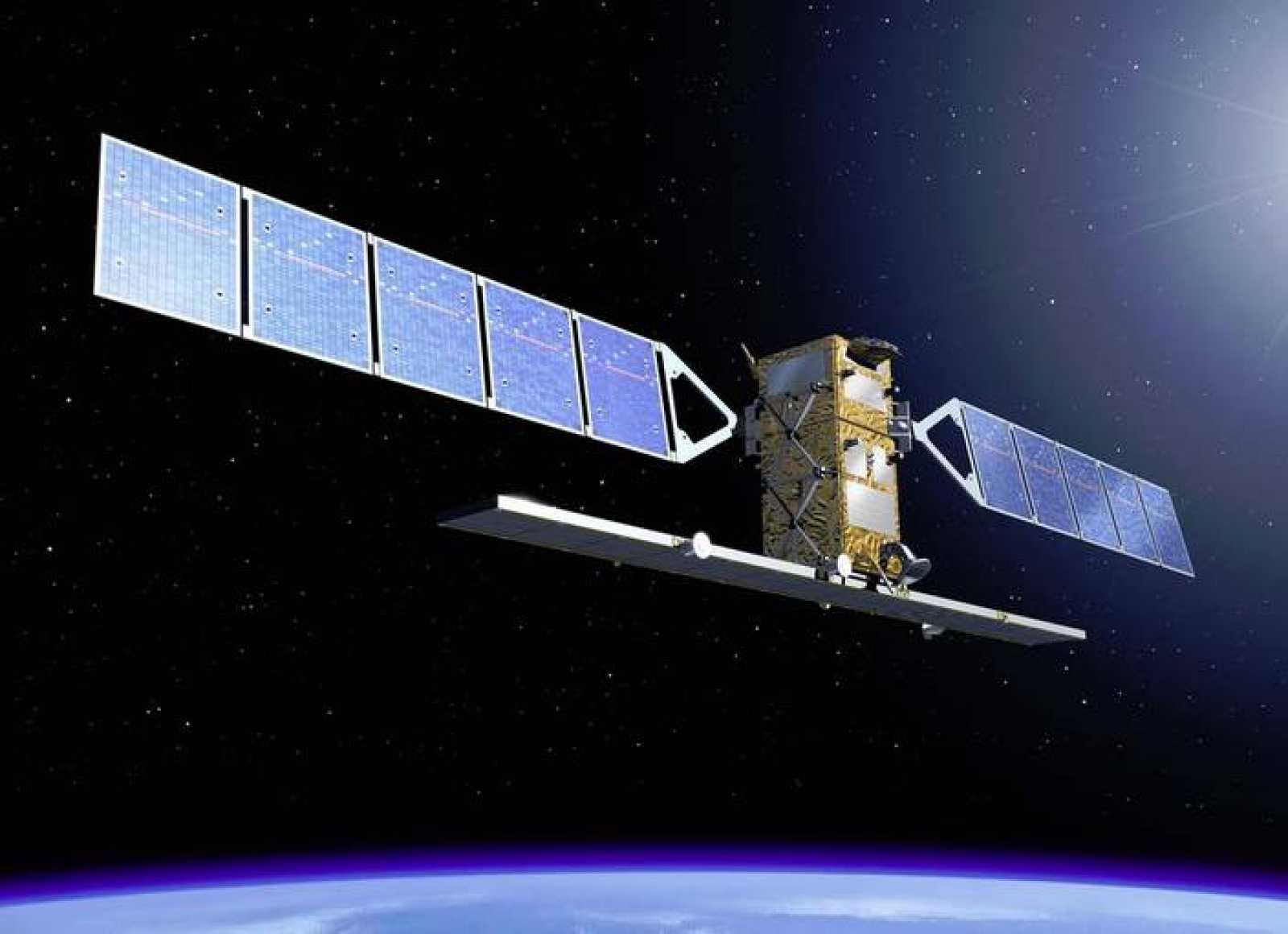 Ilustración del primer satélite Copérnico, el Sentinel 1-A