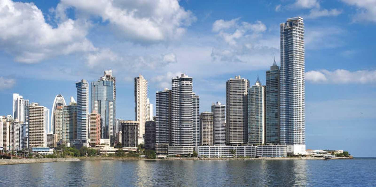 Rascacielos en la ciudad de Panamá