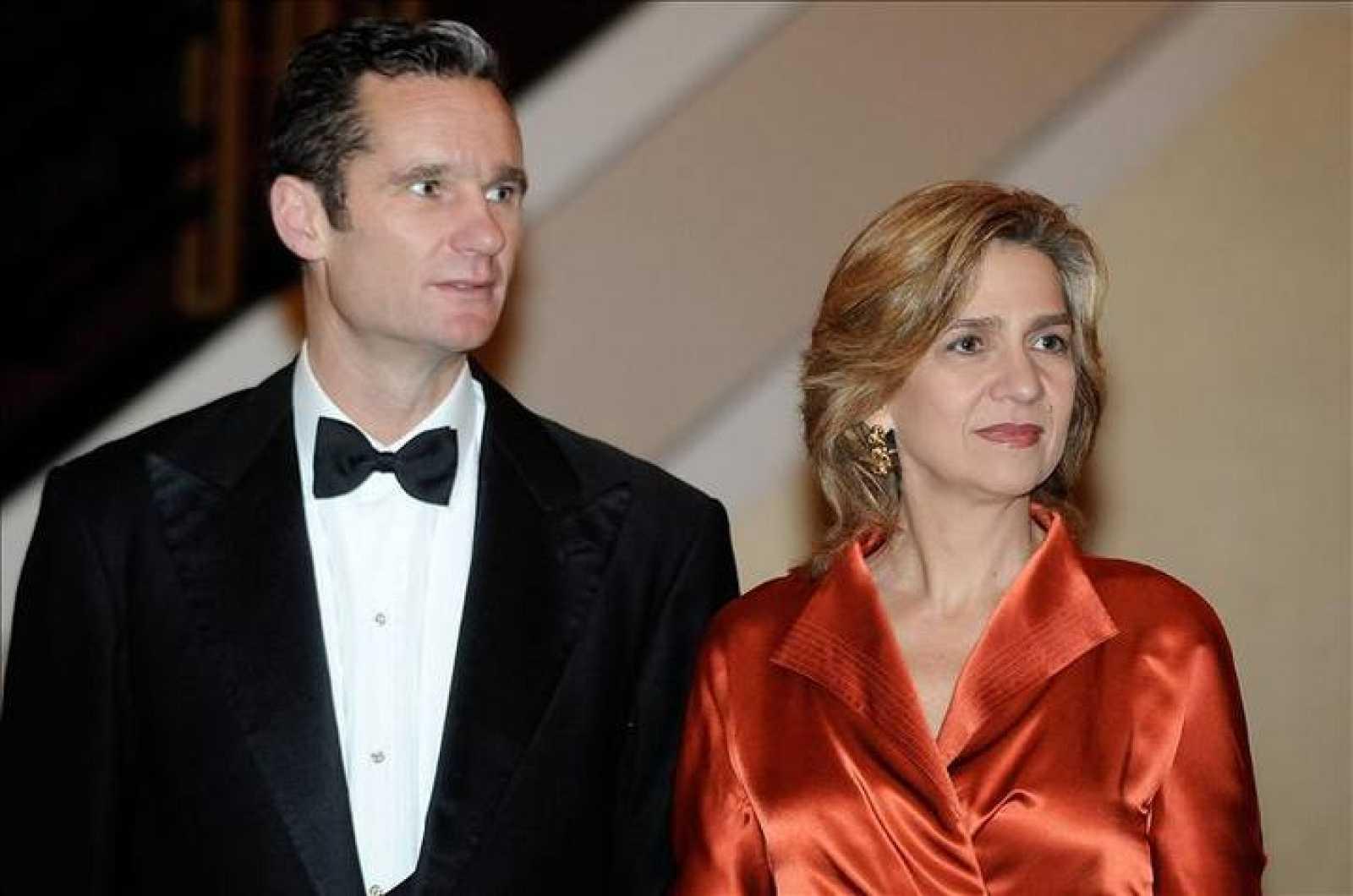 Los duques de Palma, Iñaki Urdangarin y la infanta Cristina, en una imagen de archivo.