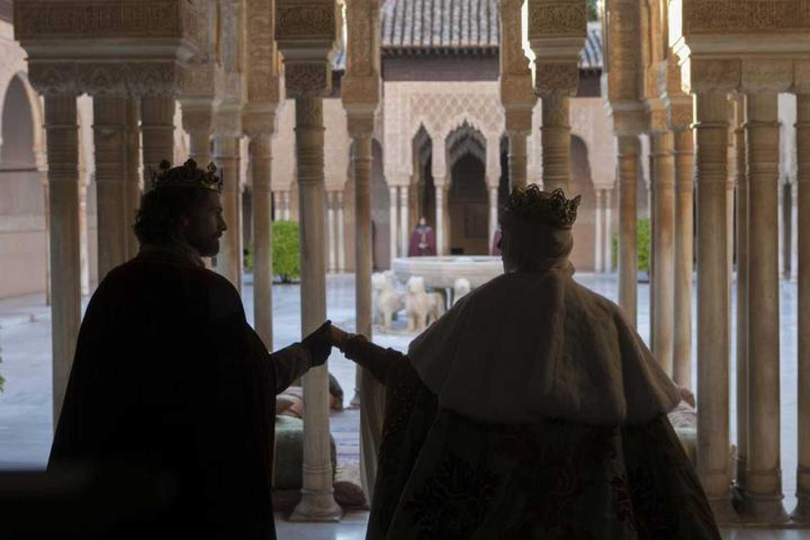 Los Reyes Católicos llegan a la Alhambra.
