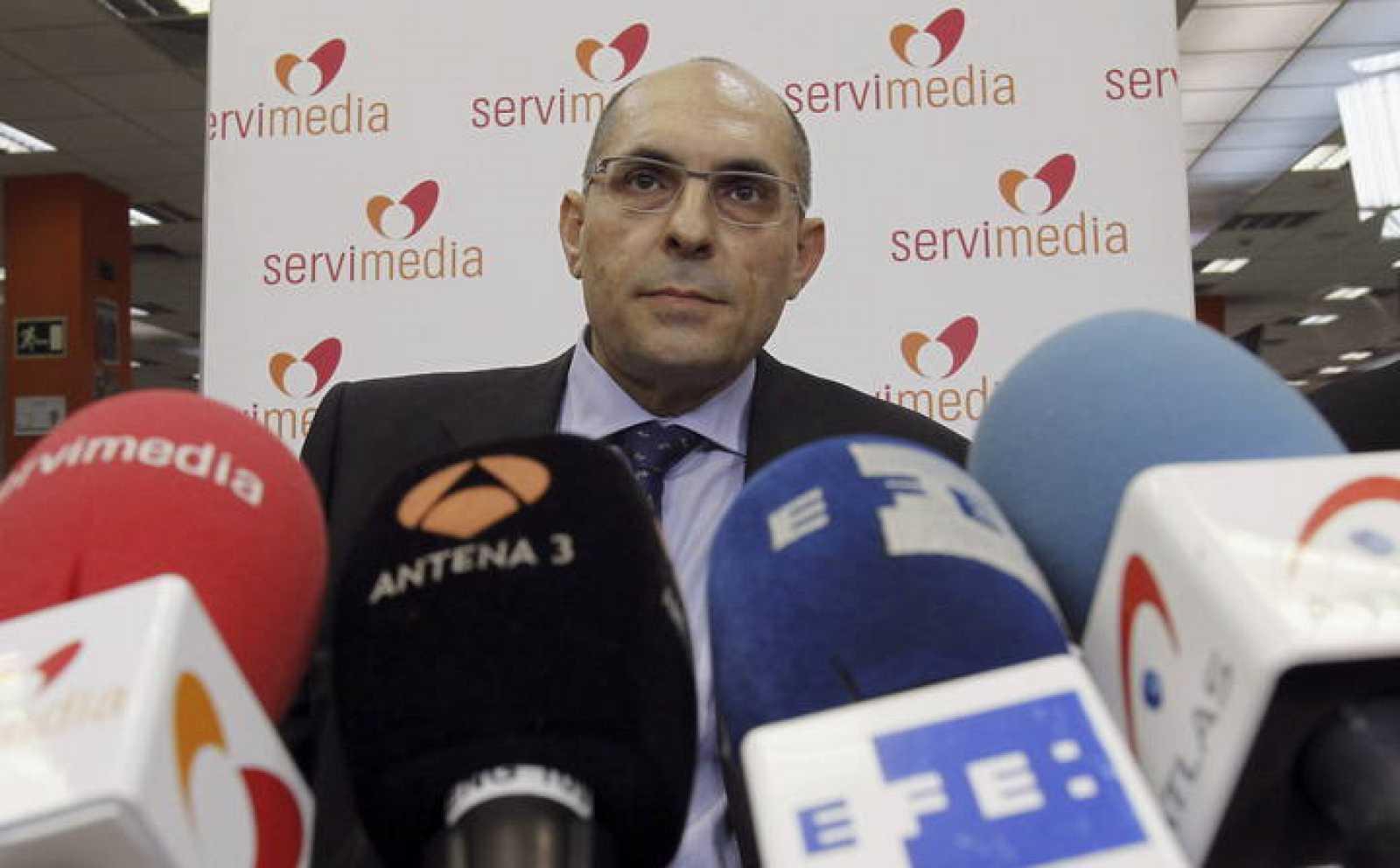 El juez Elpidio José Silva explica las novedades en el procedimiento abierto contra él.