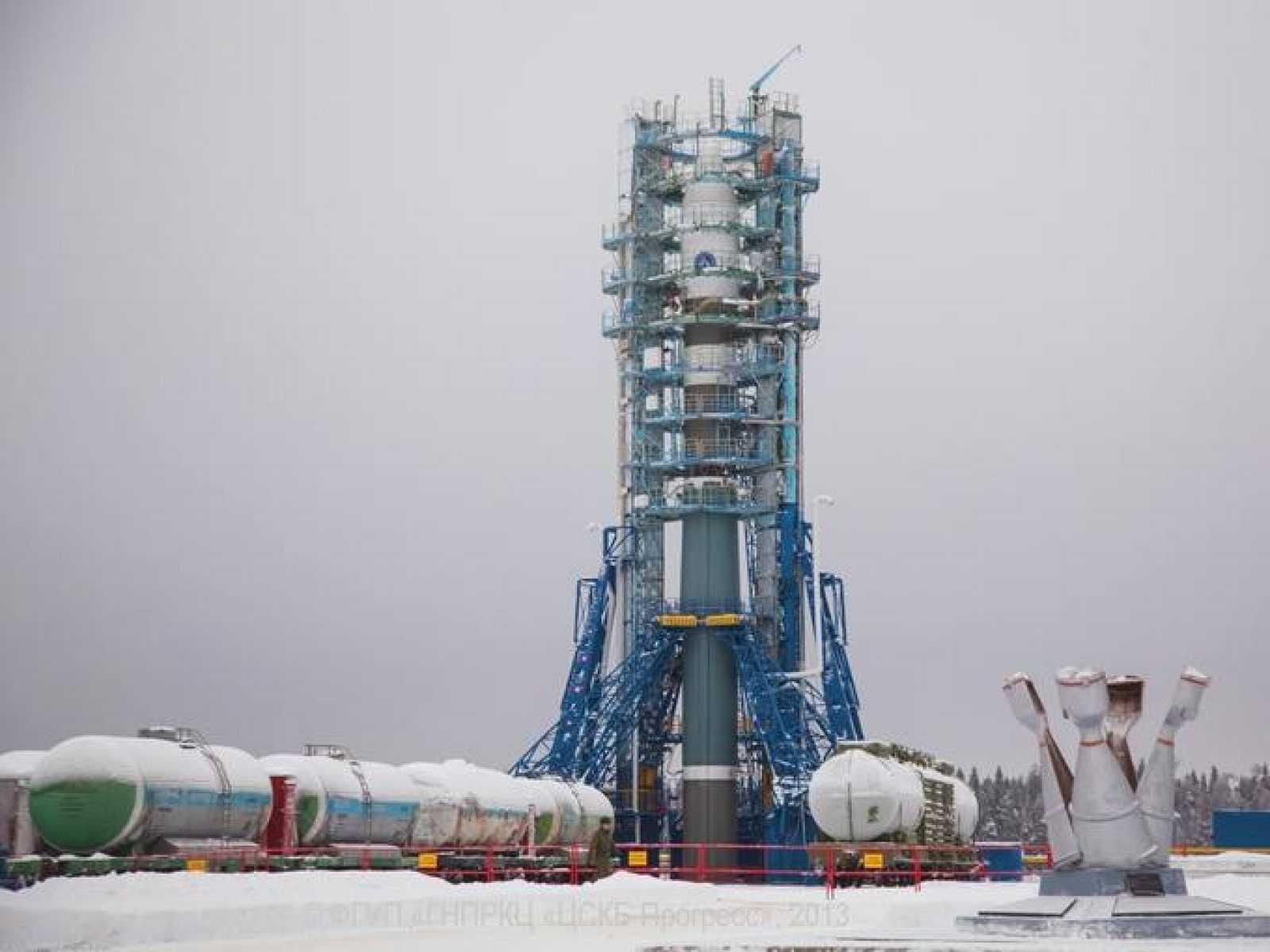 El Soyuz-2-1V está diseñado para poner cargas de hasta tres toneladas en órbita baja terrestre.